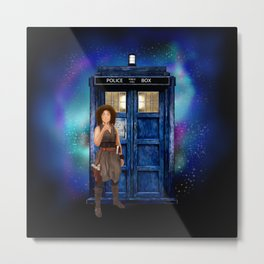 Mrs River Diary Doctor who iPhone, ipod, ipad, pillow case and tshirt Metal Print