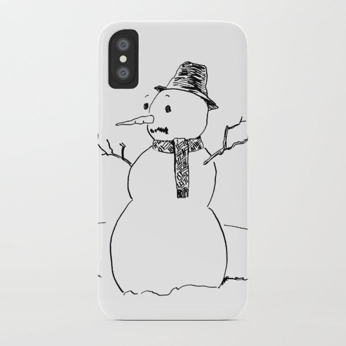 A Snowflake With Possibilities iPhone Case