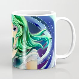 Sailor Neptune Deep Aqua Mirror Coffee Mug