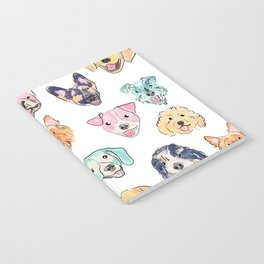 Colorful Dogs! Notebook