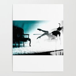 Arched Woman Poster