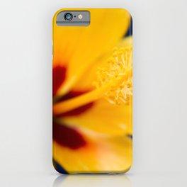 Hibiscus Lemon Drop Tropical Fancy Flowers iPhone Case