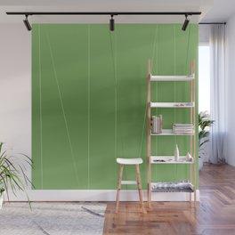 Green Line Design Wall Mural