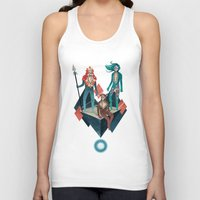 guardians Tank Tops featuring The Guardians by Reno Nogaj