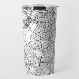 New Delhi Map White Travel Mug