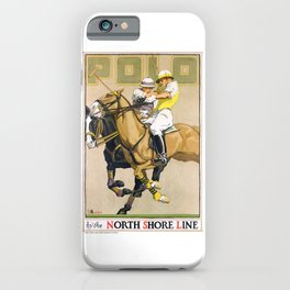 1923 Polo By The North Shore Line Transit Poster iPhone Case