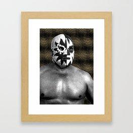 LuchaLucha Framed Art Print