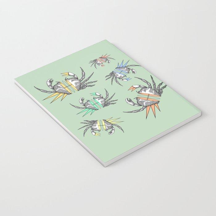 grab my crabs Notebook