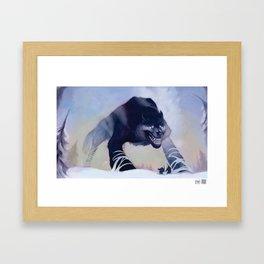 Fenrir the Wolf Framed Art Print