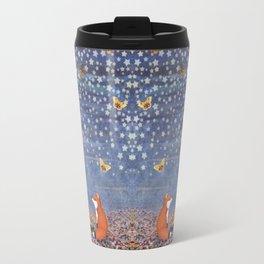 moonlit foxes Travel Mug