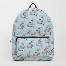 Cat gone Fishing Backpack