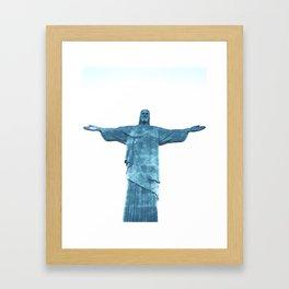 Christ Redeemer Rio de Janeiro - Art Framed Art Print