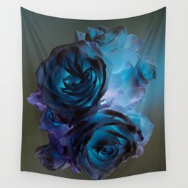 The Modern Rose Bunch Wall Tapestry