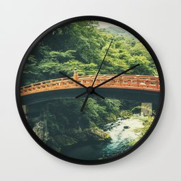 Shinkyo Bridge Wall Clock