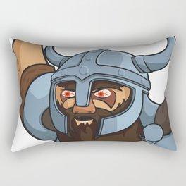 Viking berserker Rectangular Pillow
