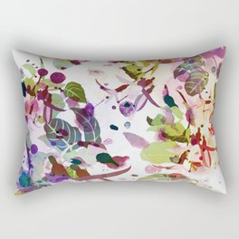multicolore abstract fuchsia Rectangular Pillow