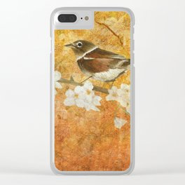 Nightingale's Solstice Clear iPhone Case