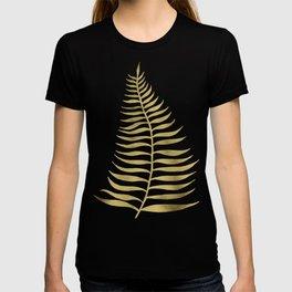 Golden Palm Leaf T-shirt