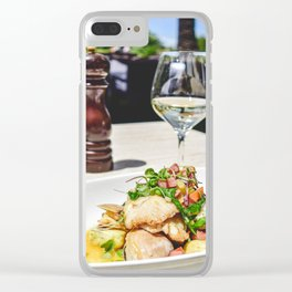 NEW ZEALAND: Lunch at the Mission Winery, Wellington, NZ Clear iPhone Case
