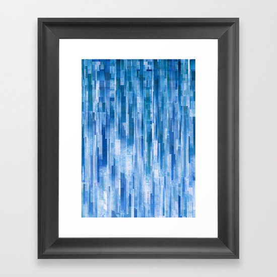 Rain (Clouds Remix) Framed Art Print