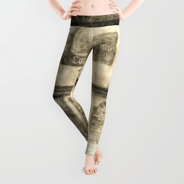 The Coopers Arms Pub Rochester Vintage Leggings