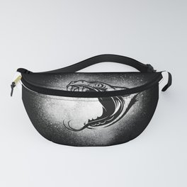 Snakes Head With Splash Gift Idea Design Fanny Pack