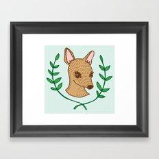 Doe, A Deer Framed Art Print