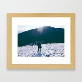 Winters View Framed Art Print