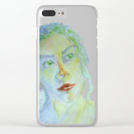 Madame Clear iPhone Case