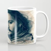 johnny depp Mugs featuring Johnny Depp II. by Thubakabra