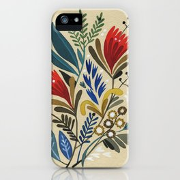 folkflower II iPhone Case