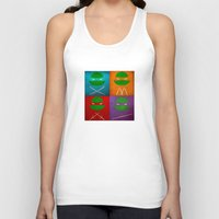 tmnt Tank Tops featuring TMNT Collection by fabvalle
