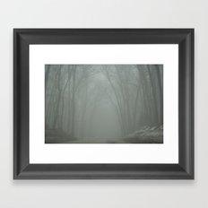 The Road of Life Framed Art Print