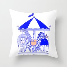 Carroussel Throw Pillow
