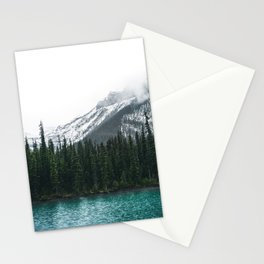 Forest | Maligne Lake Photography | Alberta | Mountains  Stationery Cards