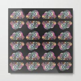 GeometricClouds Metal Print