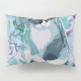 Nestled Kitten in Comforter Cloud Pillow Sham
