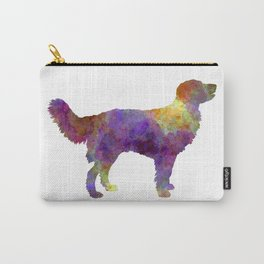 Drentsche Partridge Dog in watercolor Carry-All Pouch