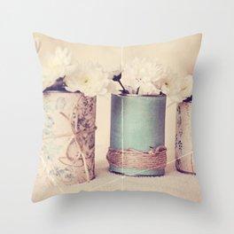 Vintage Love! Throw Pillow