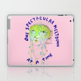 One spectacular meltdown at a time Laptop & iPad Skin