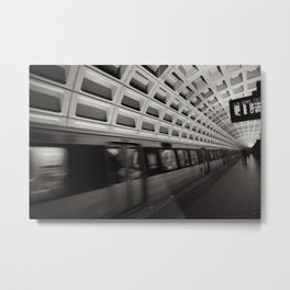 Going Somewhere? Metal Print