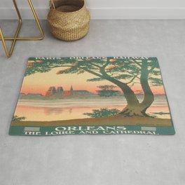 Vintage poster - Orleans Rug
