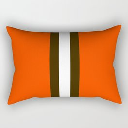 Cleveland Team Colors Rectangular Pillow