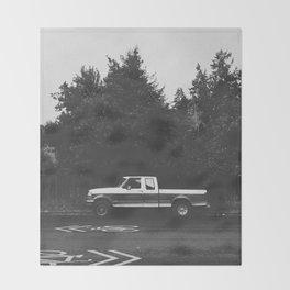 Pickup truck - Eugene - Oregon Throw Blanket