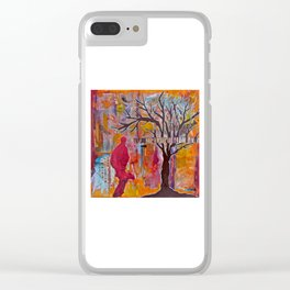 Finding My Way (The Path to Self Discovery/Actualization) Clear iPhone Case