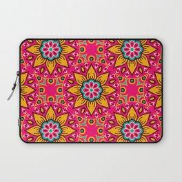 Bright colorful mandala pattern Laptop Sleeve