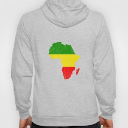 Africa vintage map for Africans Hoody