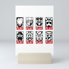 Video Game Collection Mini Art Print