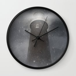 An old lighthouse Wall Clock