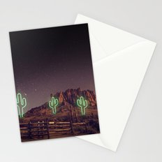 UFO forest Stationery Cards